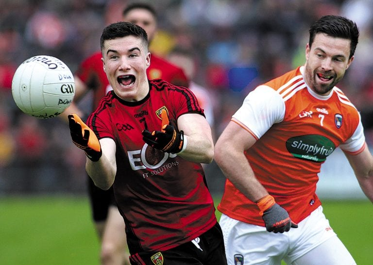 Down footballers suffer one point defeat to Armagh in Ulster SFC quarter-final