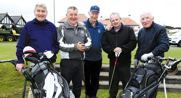 Charity Golf Classic in aid of Cancer Research UK takes place at the Royal County Down Annesley Links