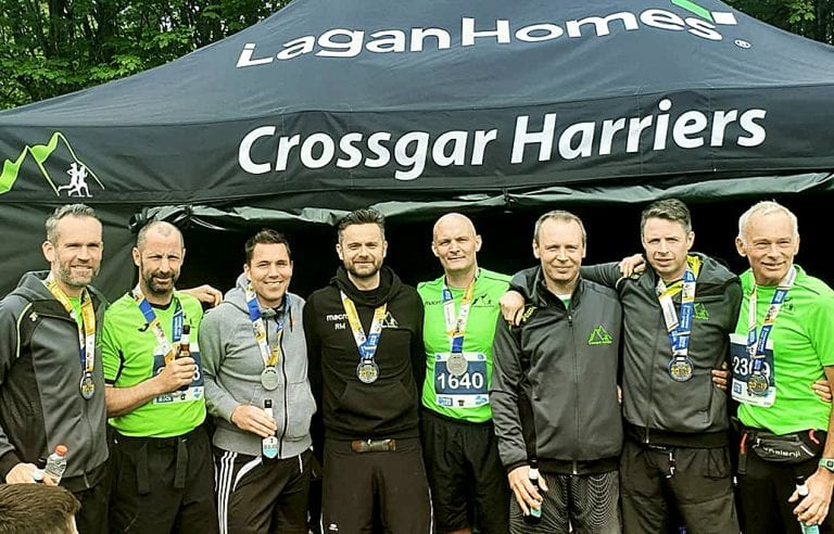 Crossgar Harriers take a squad of 20 to the Marathon