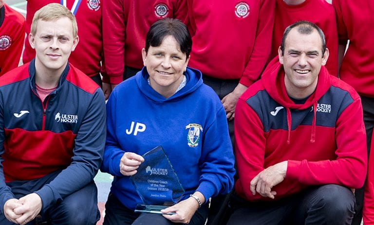 Janice is named Children's Coach of the Year
