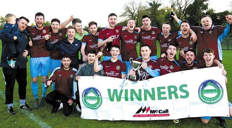 Ballynahinch Olympic Seconds become Newcastle League Division One champions