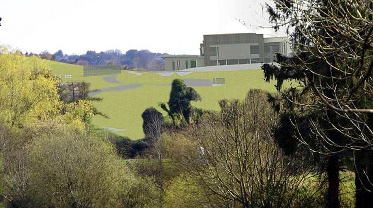 Change to school site graveyard works proposed