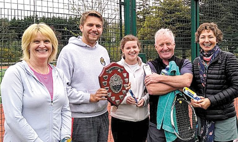 Newcastle tennis club's charity tournament returns after refurbishment of courts