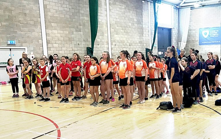 Newcastle club hosts a youth tournament in Banbridge