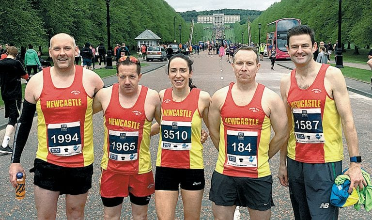 Belfast Marathon attracted a host of local runners last Sunday