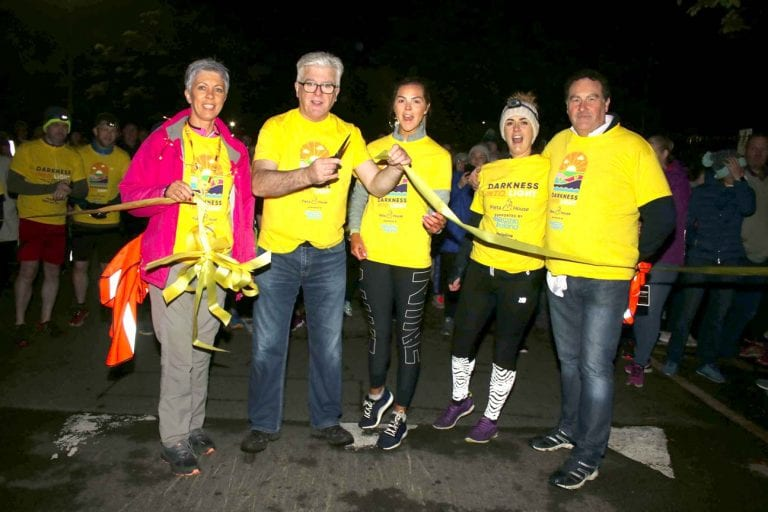 Third annual 'Darkness Into Light' walk at Kilbroney Park