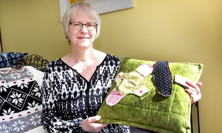 A sewing circle with a difference