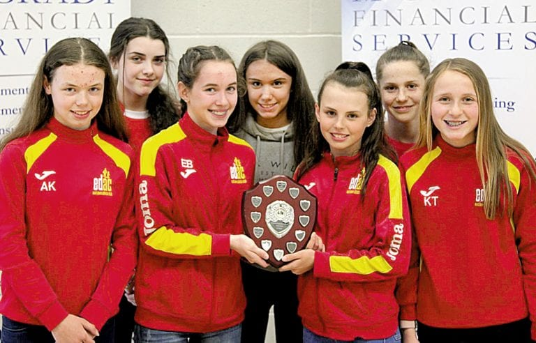 Junior runners receive prizes after 10th season of cross country series