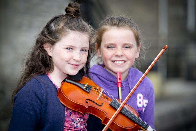 Music fills the air at Fleadh an Dúin
