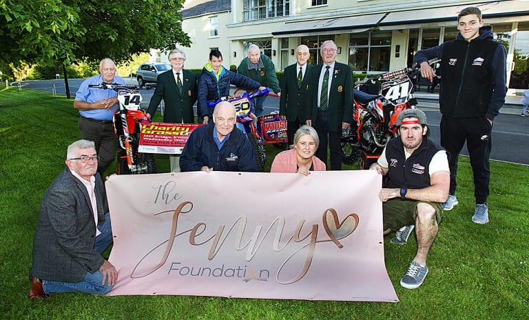 Mourne Motorcycle Club planning annual charity grasstrack event.