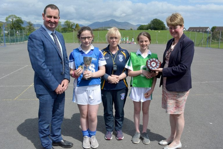 Primary school pupils enjoy netball tournament