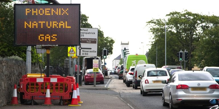 Roadworks won't interfere with Castlewellan events