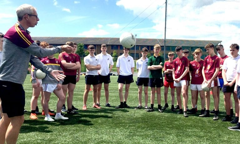 Sport bring Down High and St Patrick's pupils together