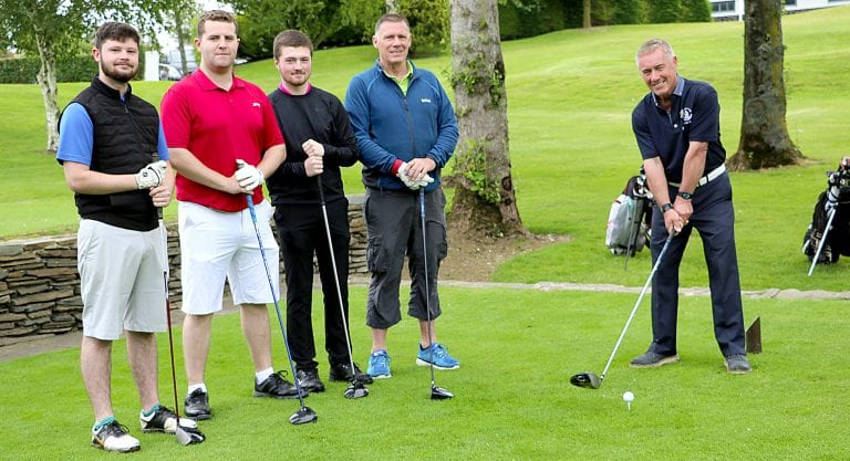 Spa Golf Club members play for captain's prizes