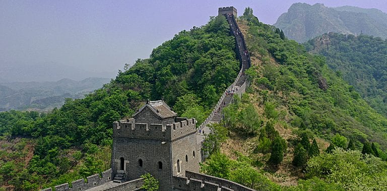 From the Mourne Wall to the Great Wall of China