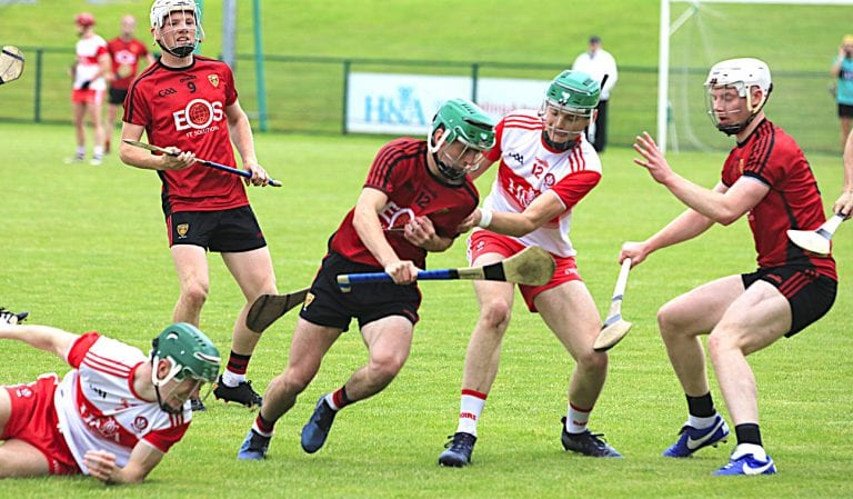 Down hurlers' dramatic late winners sees them through to final