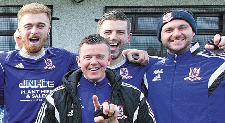 Valley Rangers manager steps down