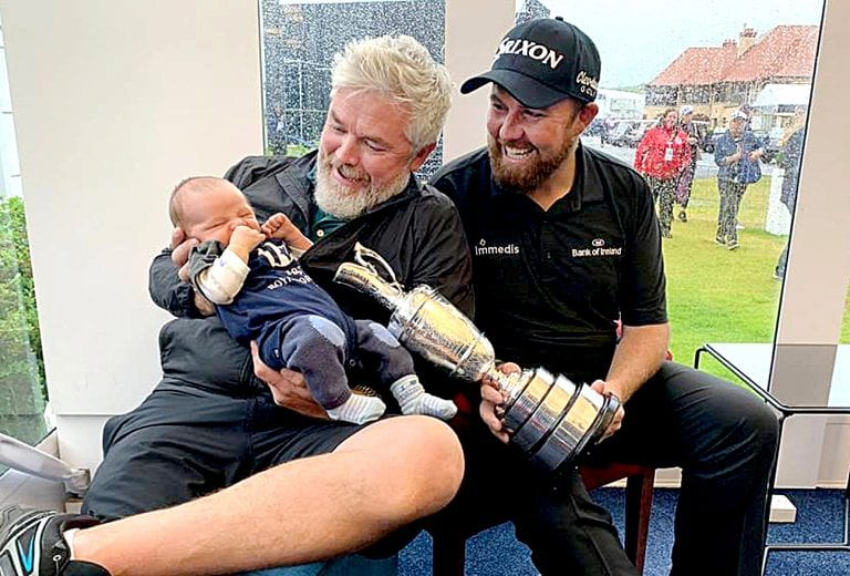 Ardglass caddy shares in Shane Lowry's Open victory
