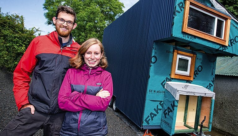 Local couple have big plans for tiny house