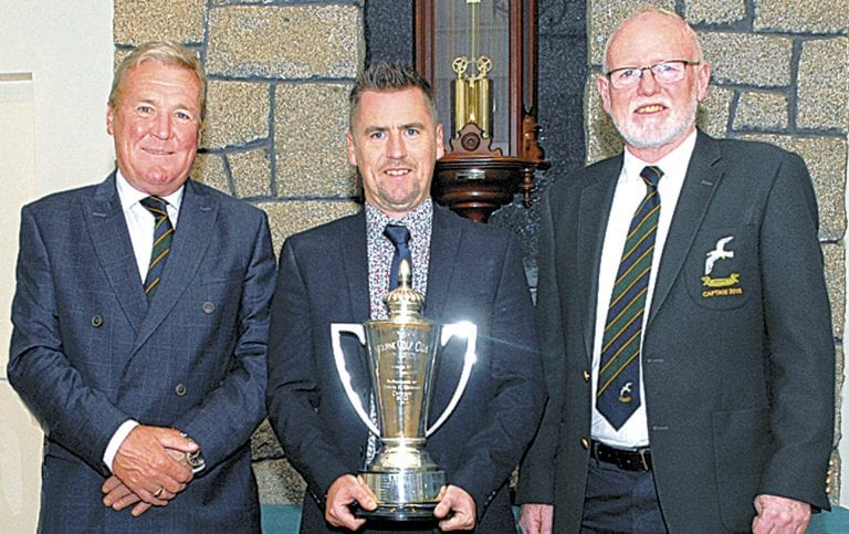 Golfers play for Mourne captain's prizes