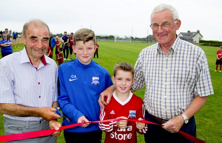 Official opening of Ballyvea FC's Mountview Park