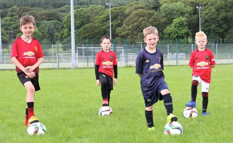 Tollymore club's Soccer Fun Weeks start at Bear Park