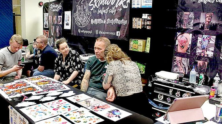 Defying 'convention' at inaugural Mourne Tattoo Convention