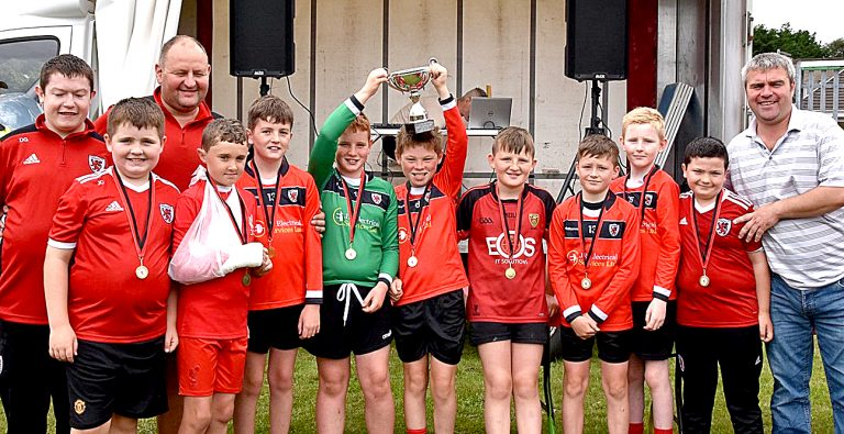 Dunnaman Football Club's Fun Day and youth presentations