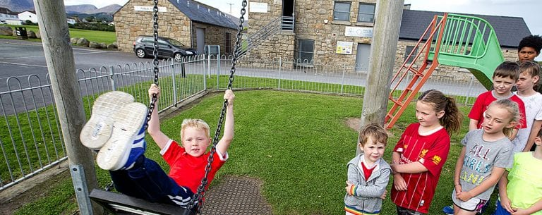 Villagers annoyed with miserable play facilities on offer