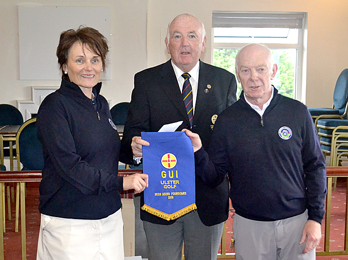 Ardglass Golf Club team wins Ulster mixed foursomes title at Bangor