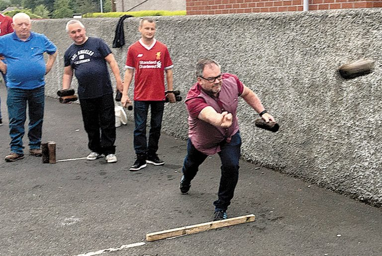 Two horse race for Division One title in Castlewellan Skittles League