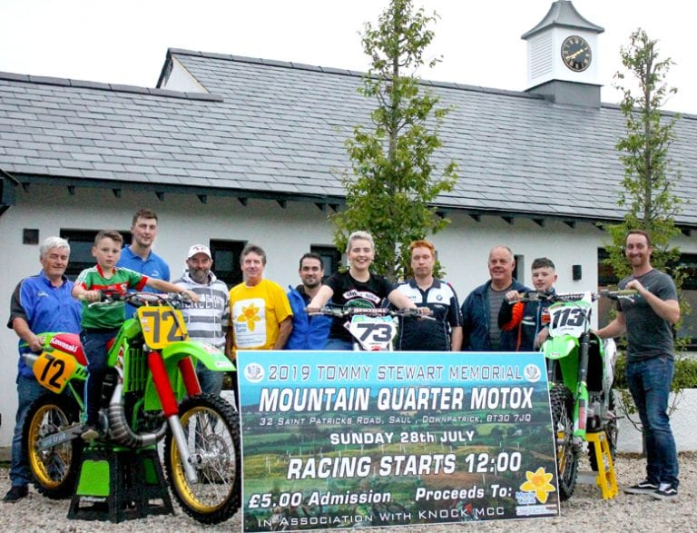 Mountain Quarter motocross meeting raises £4,200 for Marie Curie