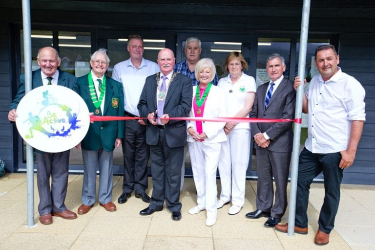 The long-awaited new bowling pavilion has opened in Newcastle.
