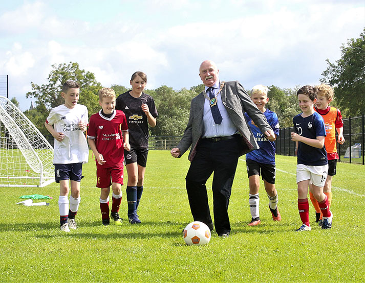 Record numbers at IFA Football Camps at Crossgar