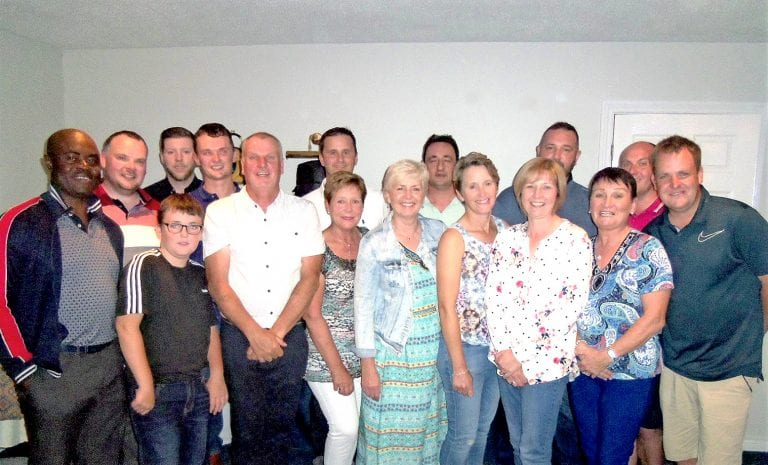 Leslie hosts his Captain's Day competitions at Crossgar Golf Club