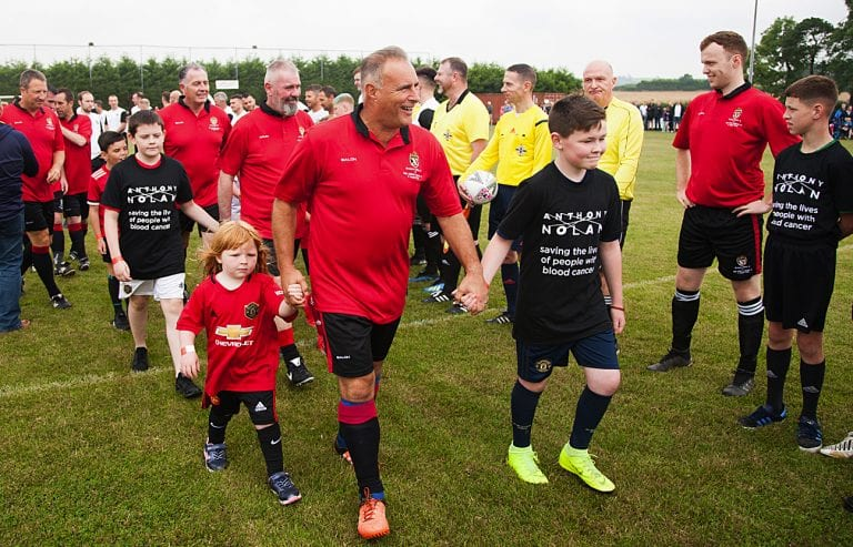 Man Utd Legends in Dromara for game in memory of Walter McVeigh