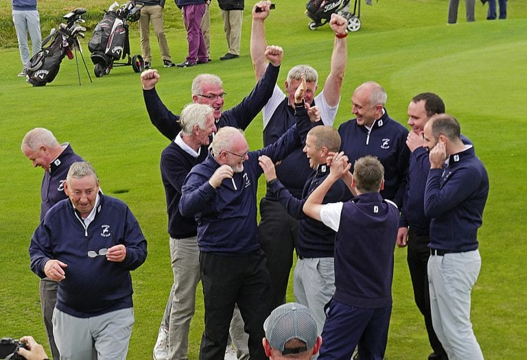 Mourne golfers secure historic Ulster Cup win