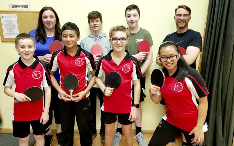 Good start for Banbridge teams in East Down Churches Table Tennis League