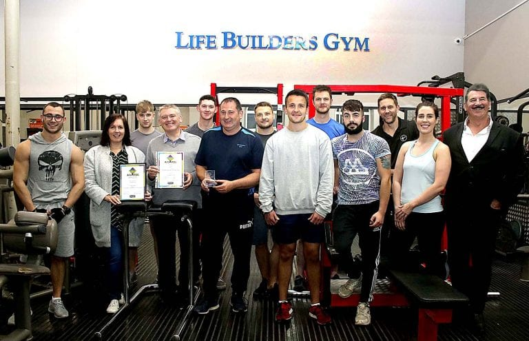 Community building award for town gym