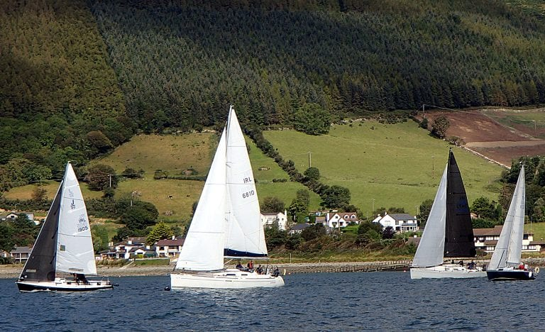 Cruiser programme finale at Carlingford Lough YC