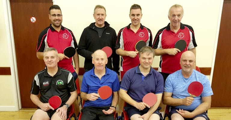 Big result for Banbridge A table tennis team as they beat Bright