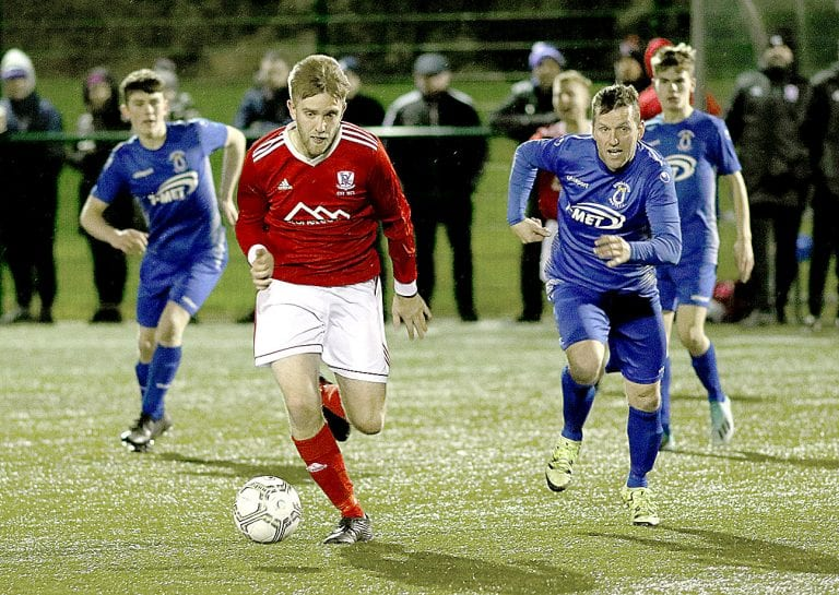 Talented young Dungannon side ends Valley's cup final hopes