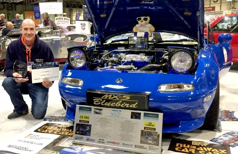 Success at the NEC for brilliant Bluebird