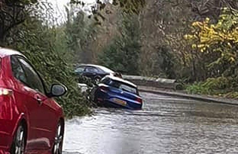 Incessant rainfall causes flooding