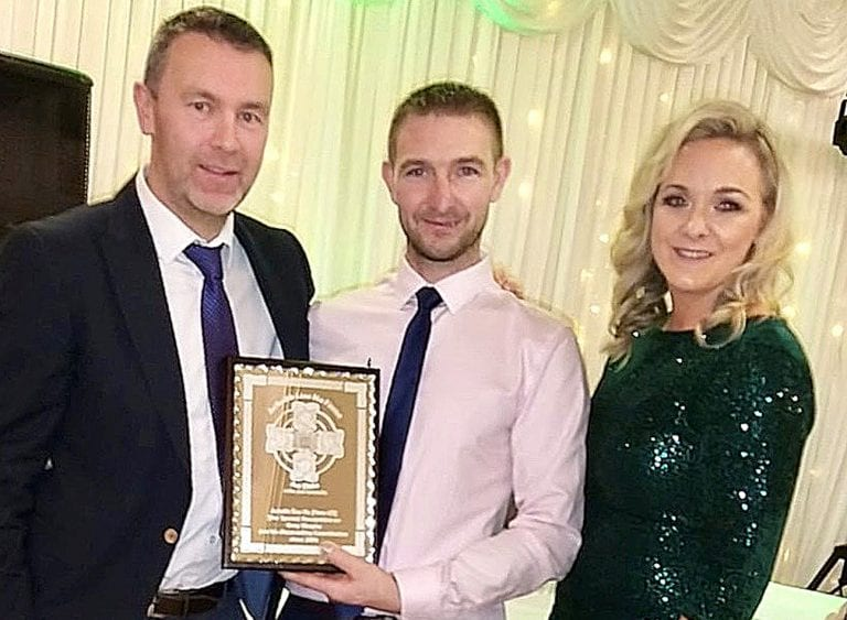 Aughlisnafin GAC members enjoy awards night in Newcastle