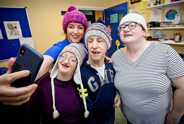 Woolly Hat Day for Mourne Stimulus