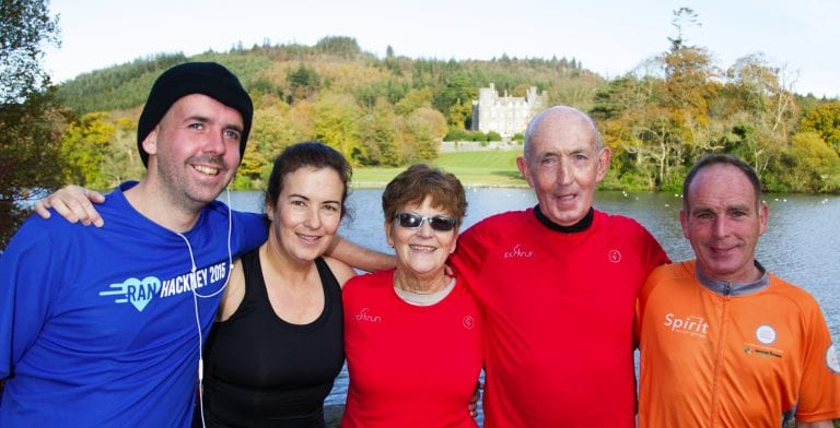 Annsborough couple's 100th Parkrun is a golden affair
