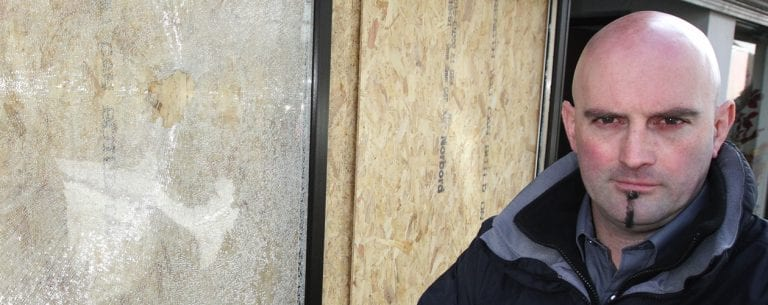 'Lowlife scumbags' smash windows of Kilkeel florist's
