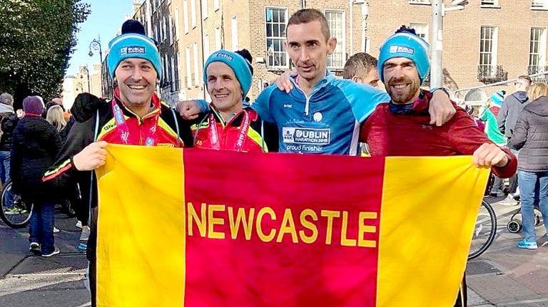 Newcastle AC runners in fantastic form at Dublin Marathon