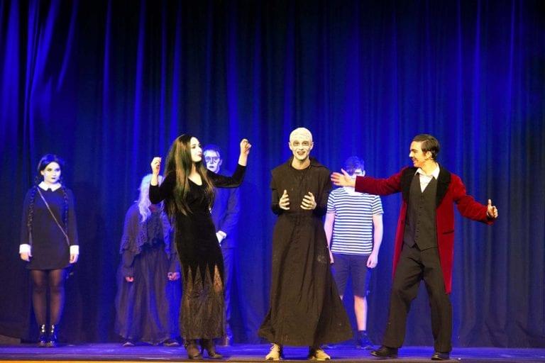 Addams Family values at St Patrick's Grammar School